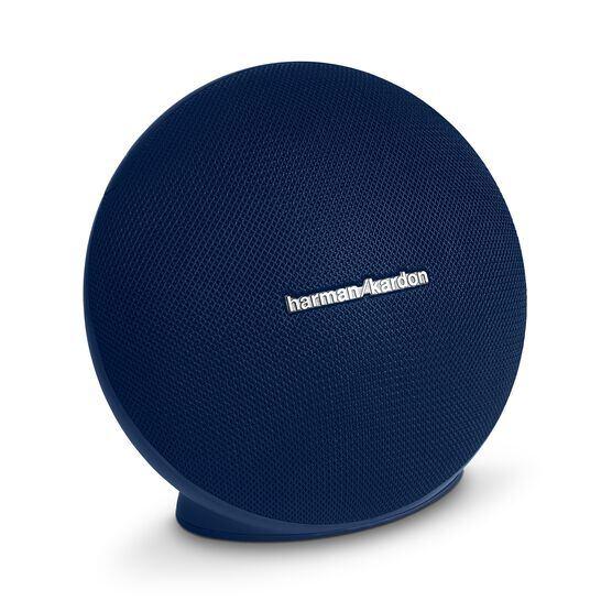 Onyx Mini - Blue - Portable Bluetooth Speaker - Hero