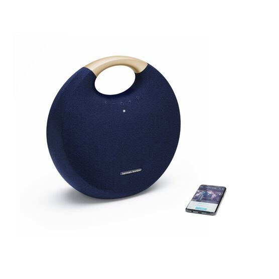 Onyx Studio 6 - Blue - Portable Bluetooth speaker - Detailshot 1