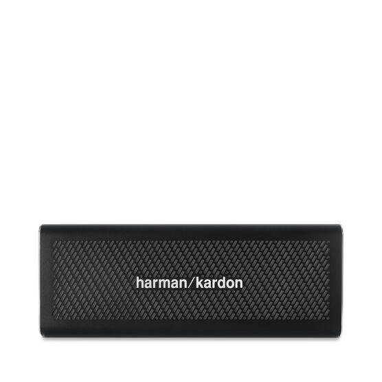 HK One - Black - Portable Bluetooth Speaker - Front