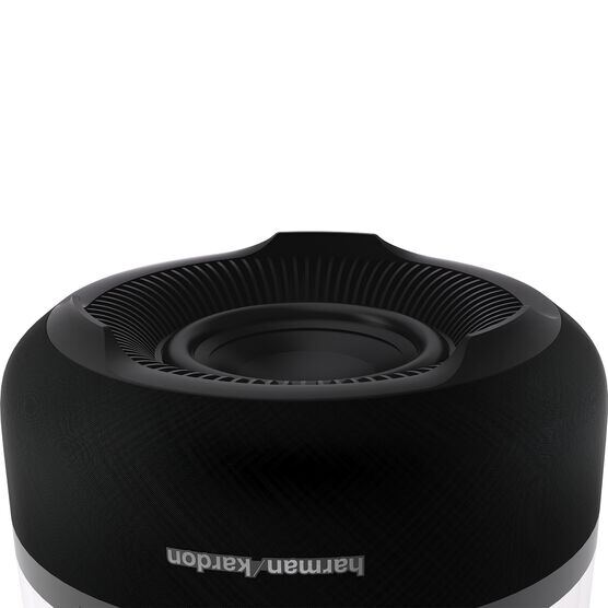 Aura Plus - Black - Wireless Home Speaker System - Back