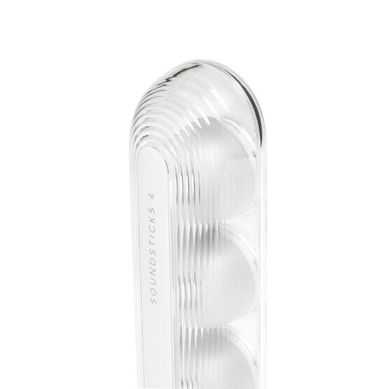 Harman Kardon SoundSticks 4 - White - Bluetooth Speaker System - Detailshot 2