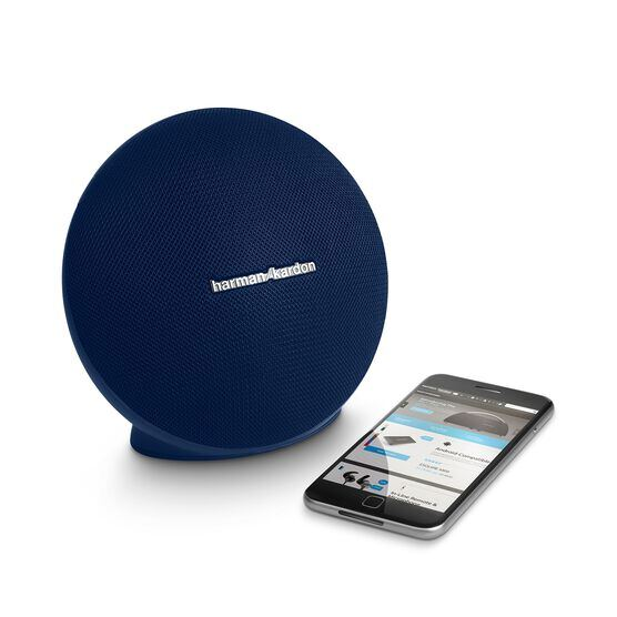 Onyx Mini - Blue - Portable Bluetooth Speaker - Detailshot 1