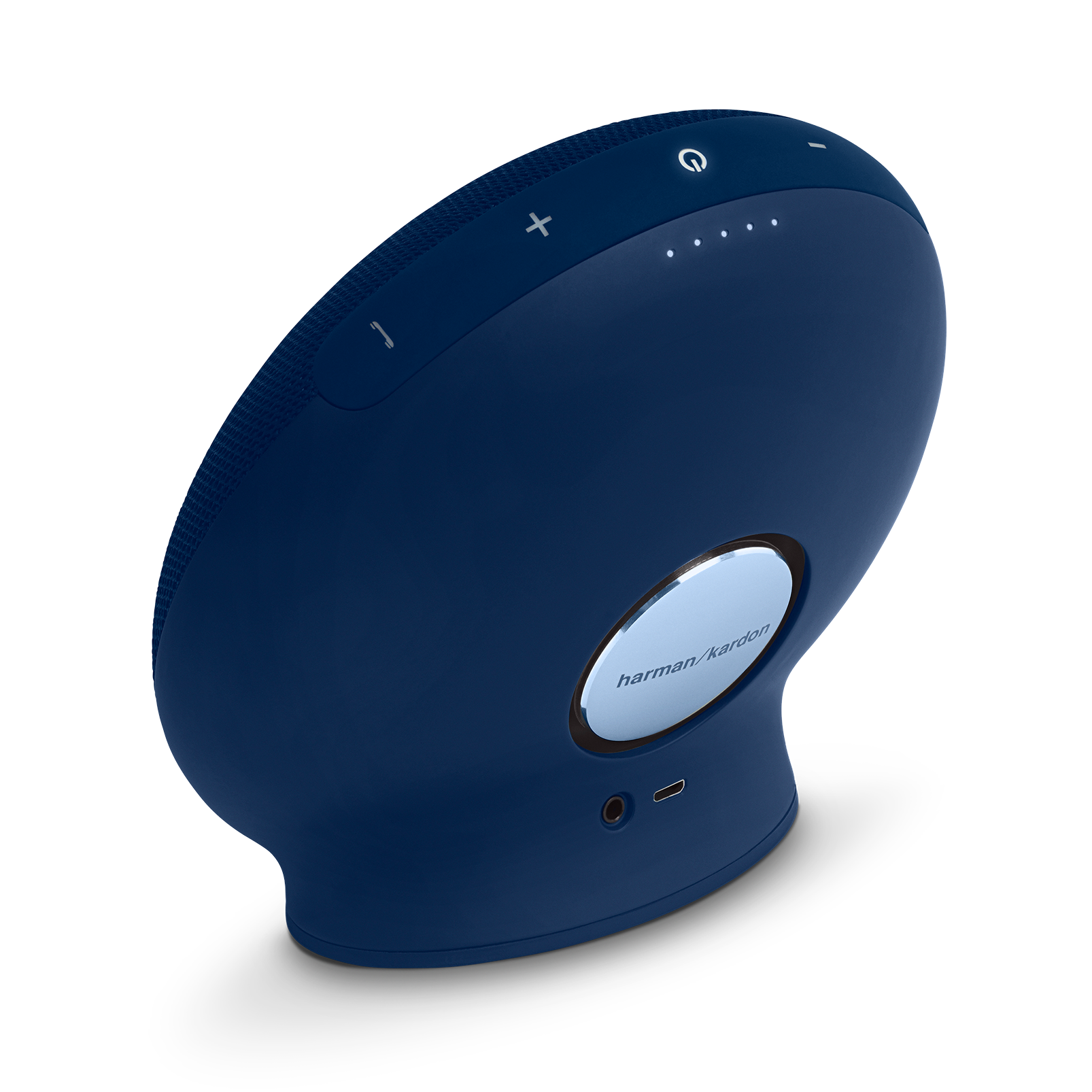 Onyx Mini - Blue - Portable Bluetooth Speaker - Front