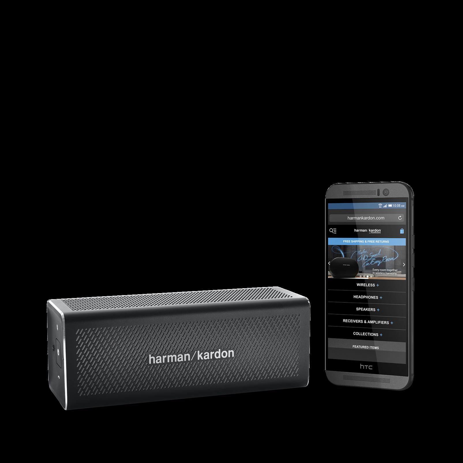 HK One - Black - Portable Bluetooth Speaker - Detailshot 6