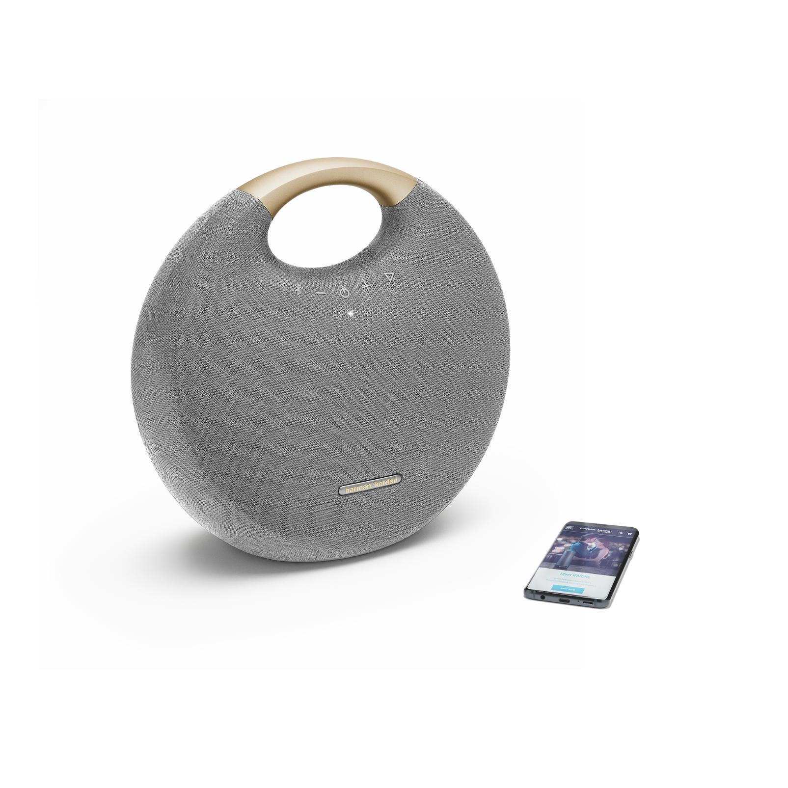 Onyx Studio 6 - Grey - Portable Bluetooth speaker - Detailshot 2